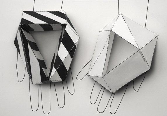 papírový náramek Oly