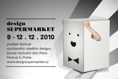 plakát festivalu designSUPERMARKET '10