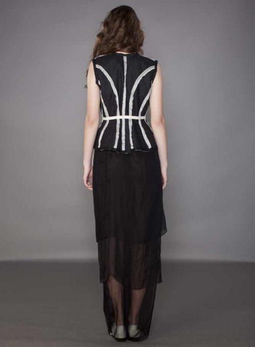 dámské černé šaty Karolína Juříková