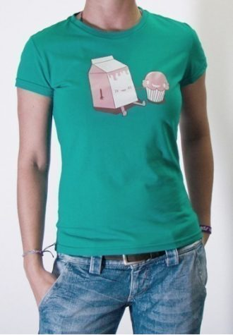 zelené tričko Lunchtime (14.90 EUR)