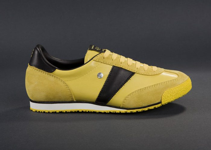 žluto-černé tenisky Botas, model Construct
