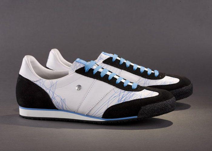 černobílé tenisky Botas 66, model Sketch 2