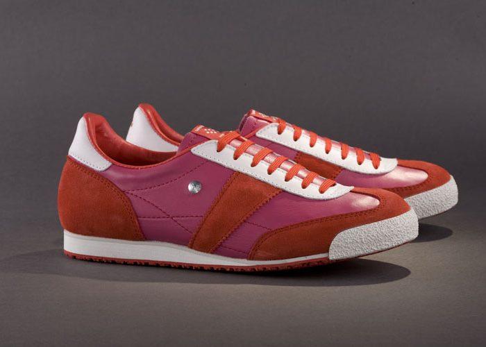 červeno-růžové tenisky Botas 66, model Sweet Candy 3