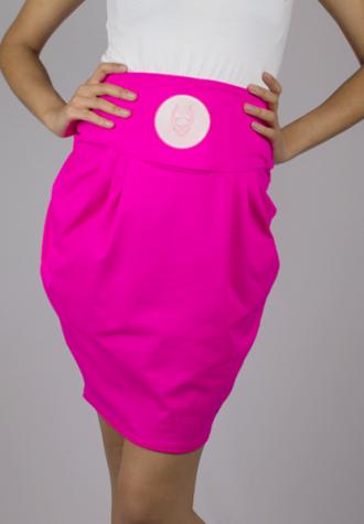 dámská růžová sukně Space Tulip (£ 24)