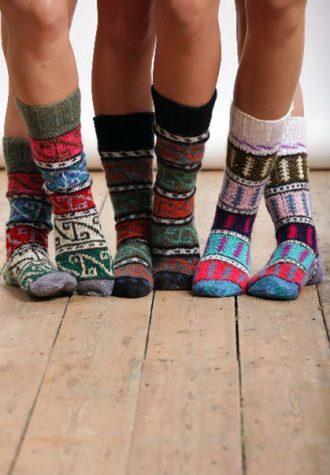 ručně pletené ponožky Bouf (€ 20.58)