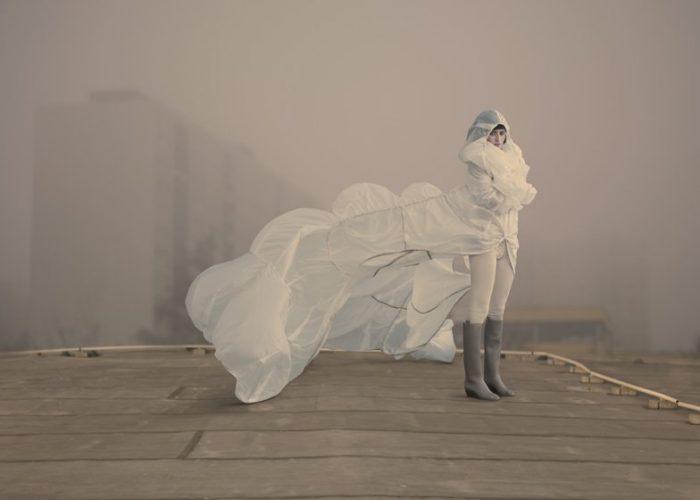 dámská kolekce Air Force pro no.fashion (módní návrhářka Hana Zárubová)