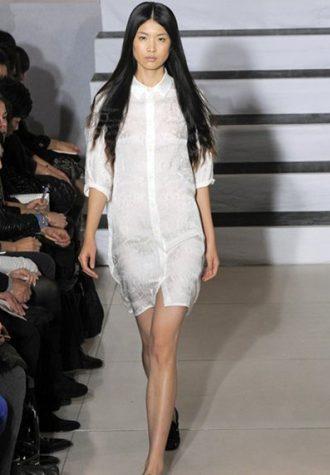 dámské bílé šaty Devastee