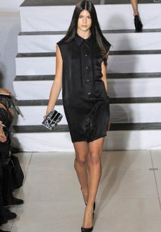dámské černé šaty Devastee