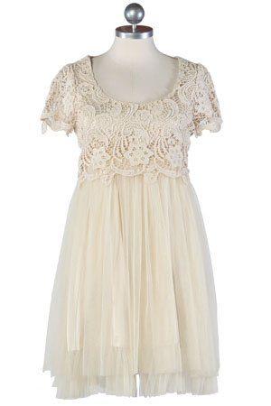 bílé šaty s květovaným vrškem ($ 87.99)