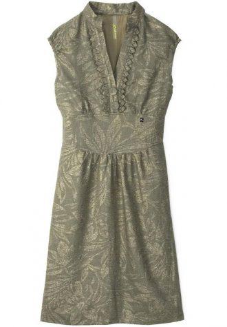 šedé brokátové šaty Dialog (£ 50.00)