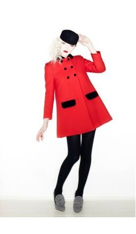 červený kabát Vivetta