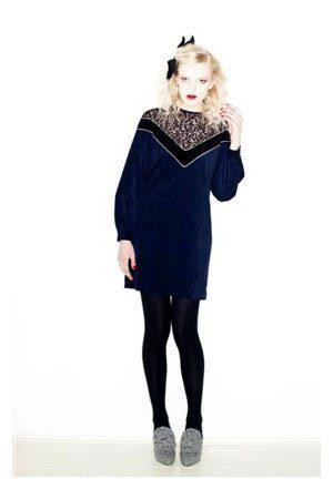 modré šaty Vivetta
