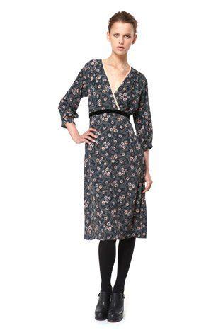 šaty s potiskem, kolekce Capsule od Niny Persson