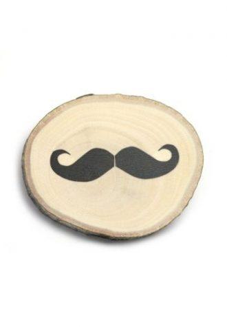 brož Wooden Bigote (15 GBP)