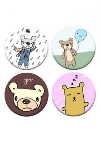 placky I Like Bears (3 GBP)