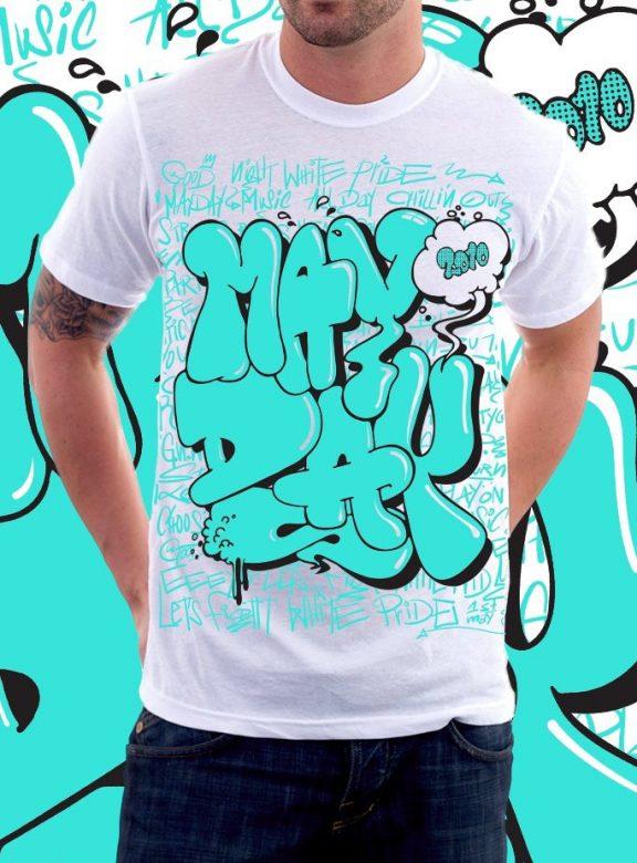 pánské tričko Graffiti