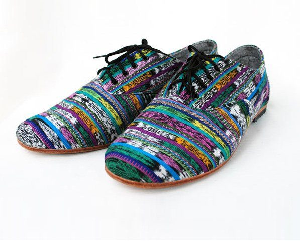 boty Striped Huipile Jazzie (90 USD)