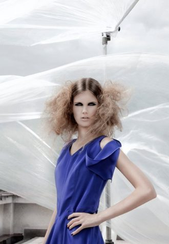dámské fialové šaty značky 7dub