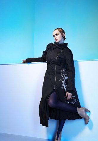 dámský černý kabát značky e:be