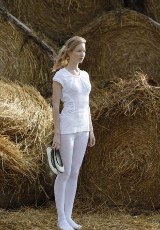 dámské bílé šaty značky no.