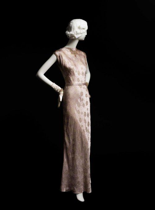 večerní šaty Main Bocher, 1944