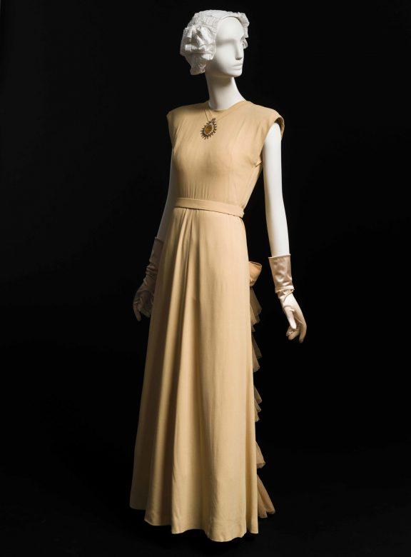 večerní šaty Main Bocher, 1946
