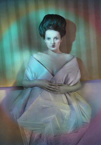 dámské šaty návrhářky Zuzany Kubíčkové, kolekce Zima