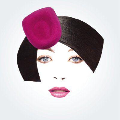 dámský růžový klobouček Rike Feurstein Podzim/Zima 09
