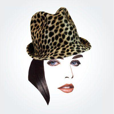 dámský leopardí klobouk Rike Feurstein Podzim/Zima 09