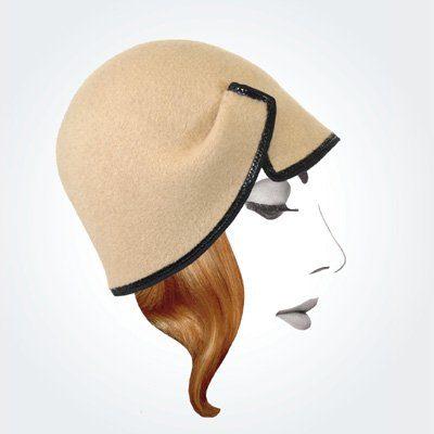 dámský béžový klobouk Rike Feurstein Podzim/Zima 09