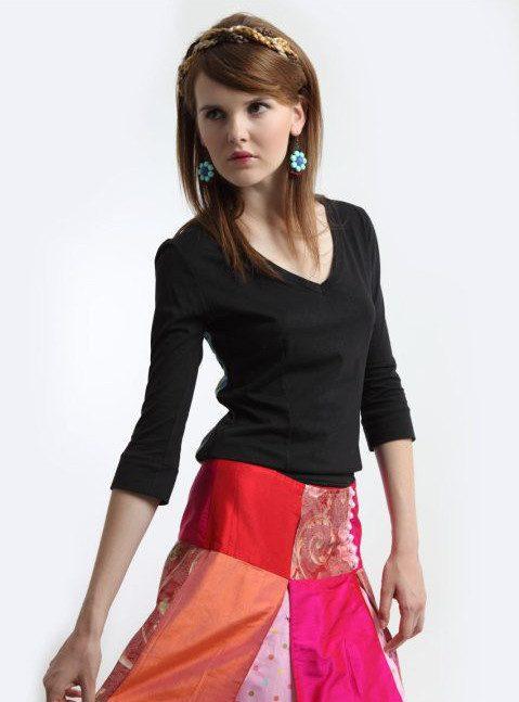 dámská barevná sukně La femme Mimi z kolekce Folklore de Luxe