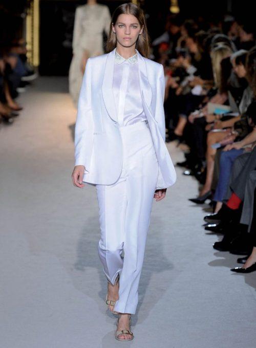 dámský bílý oblek Stella McCartney