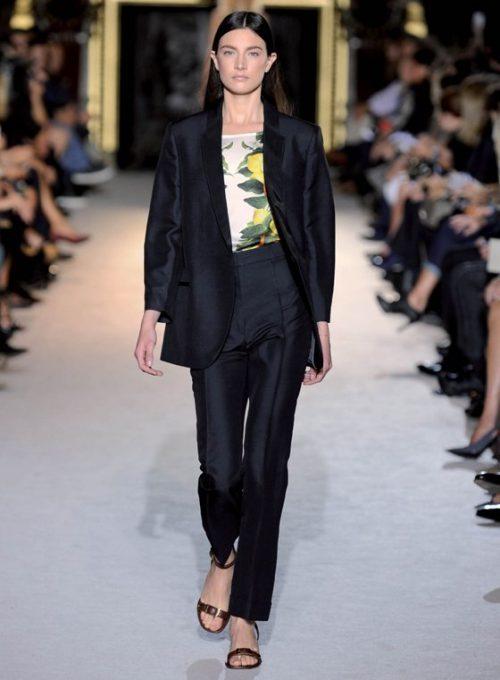 dámský černý oblek Stella McCartney