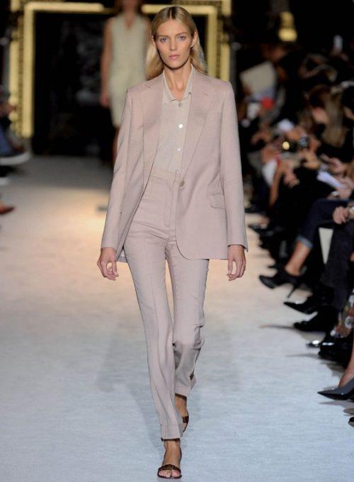 dámský světle růžový kostýmek Stella McCartney