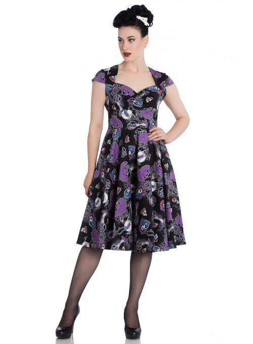 dámské šaty s potiskem Soho's