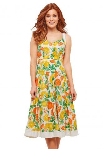 dámské šaty se vzorem Joe Browns