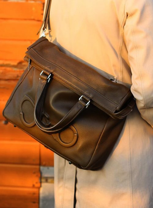 kožená taška Vlieger & Vandam