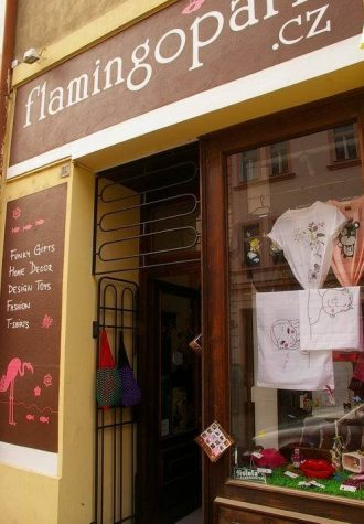 obchod FLamingopark