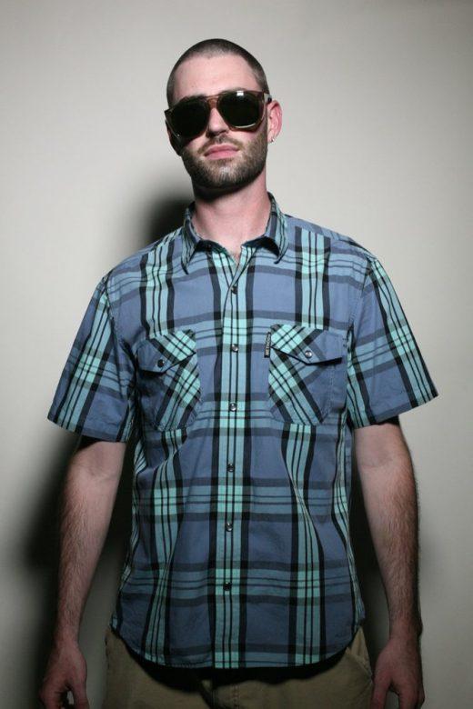 pánská kostkovaná košile Blue Meanie ($ 20)