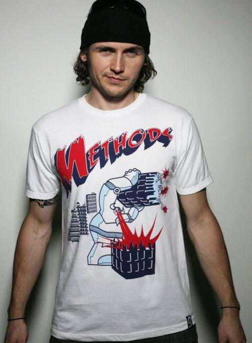 pánské bílé triko s potiskem Rampage ($ 26)