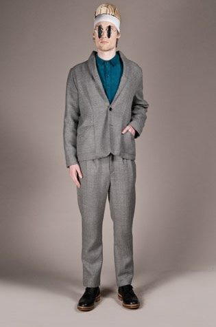 pánský šedý oblek Henry Vibskov