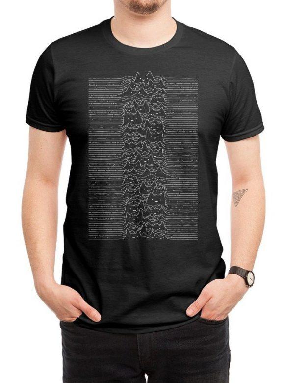 pánské černé tričko Furr division