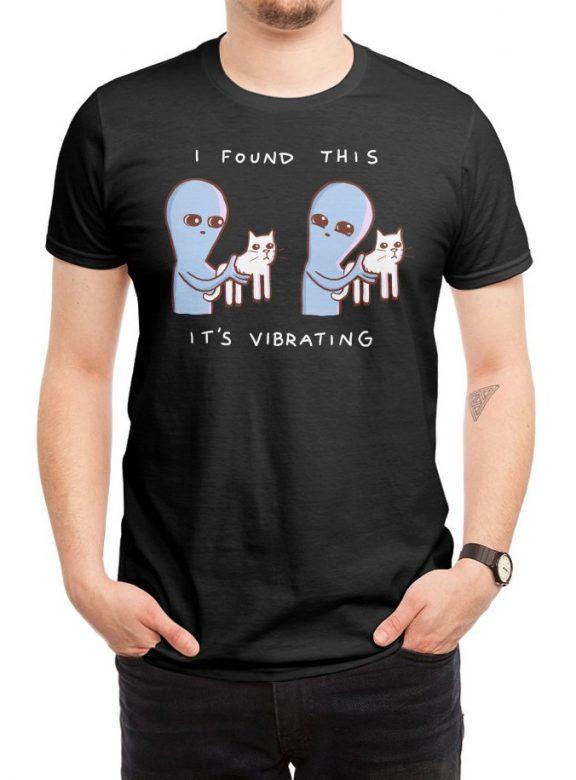 pánské černé tričko I found this