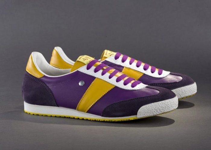 fialové tenisky Botas 66, model Purple Rain