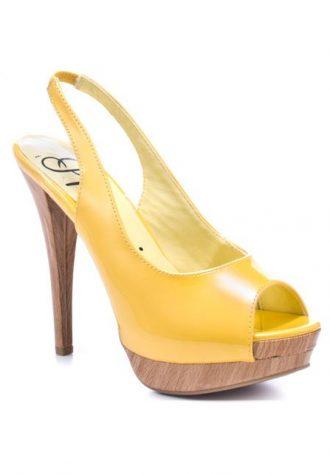 žluté střevíčky Promise Shoes, typ Zulie (49.99 USD)