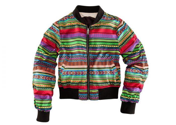 dámská barevná bunda se vzorem H&M