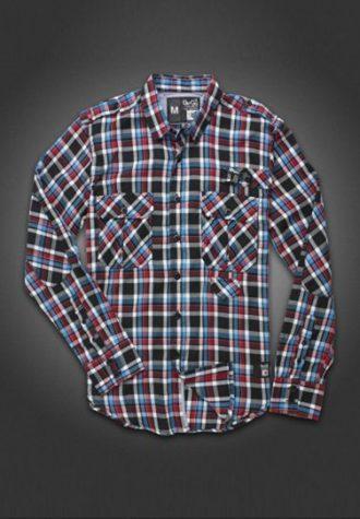 pánská kostkovaná košile Gio-Goi (£22.50)