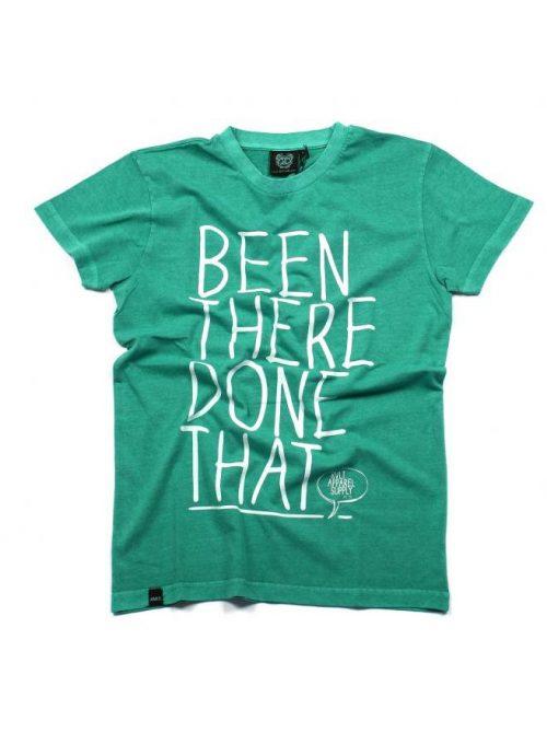 zelené tričko s potiskem (39 EUR)
