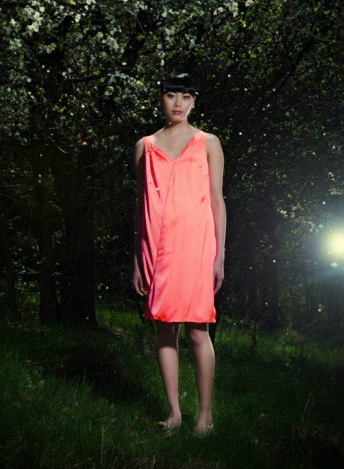 růžové šaty Gábina Páralová