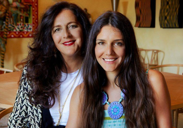 návrhářka Angela Missoni s dcerou